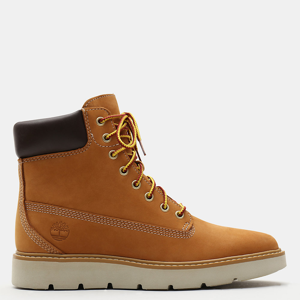 Timberland Kenniston 6 Inch Boots For Women In Yellow [Size UK 3-7.5]