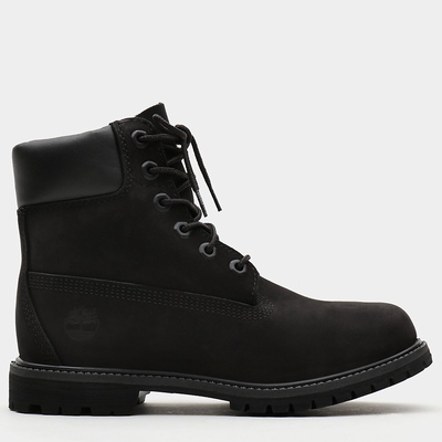 Timberland 6 Inch Premium Boots For Women In Black [Size UK 3-7.5]