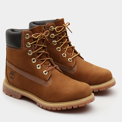 Timberland 6 Inch Premium Boots For Women In Brown [Size UK 3-7.5]