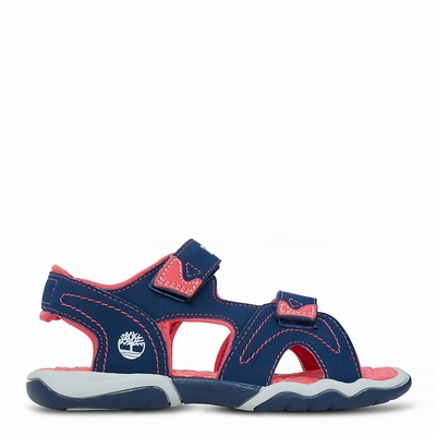 Timberland Adventure Seeker Sandals For Kids In Navy [Size UK 6-2.5]