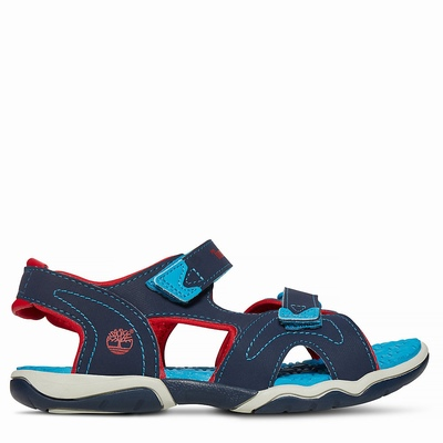 Timberland Adventure Seeker Sandals For Kids In Red [Size UK 6-2.5]