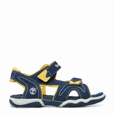 Timberland Adventure Seeker Sandals For Kids In Yellow [Size UK 6-2.5]