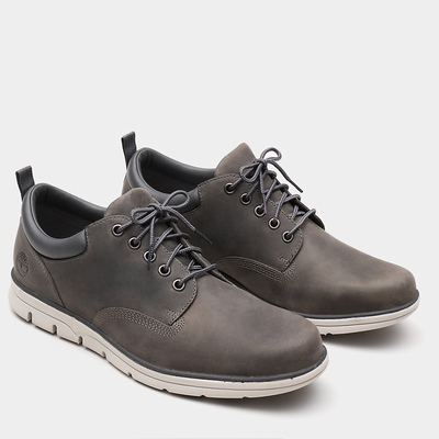 Timberland Bradstreet 5 Eye Oxfords Shoes For Men In Grey [Size UK 5.5-11.5]