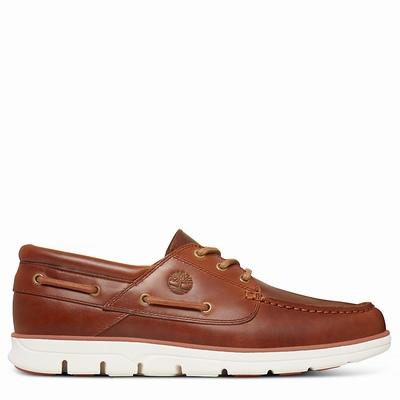Timberland Bradstreet Boats Shoes For Men In Brown [Size UK 5.5-11.5]