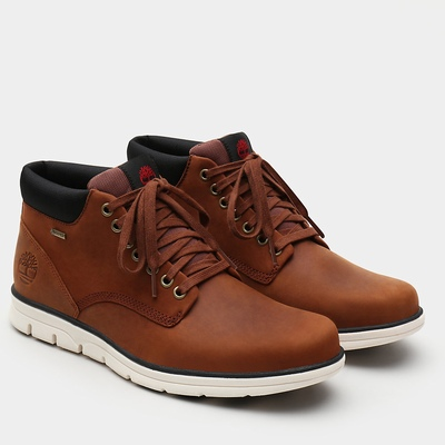Timberland Bradstreet Gore-Tex® Chukka Boots For Men In Brown [Size UK 5.5-11.5]