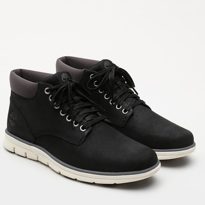 Timberland Bradstreet Leather Chukka Boots For Men In Black [Size UK 5.5-11.5]
