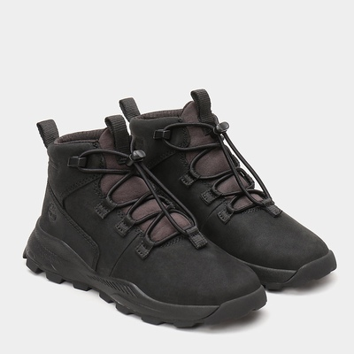 Timberland Brooklyn Alpine Chukka Boots For Kids In Black [Size UK 6-2.5]