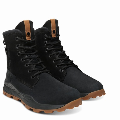 Timberland Brooklyn Side Zip Boots For Men In Black [Size UK 5.5-11.5]