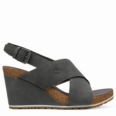 Timberland Capri Sunset Sandals For Women In Dark/Grey [Size UK 3-7.5]