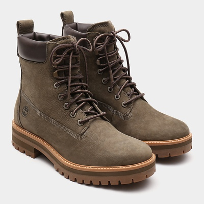 Timberland Courma Guy Boots For Men In Green [Size UK 5.5-11.5]