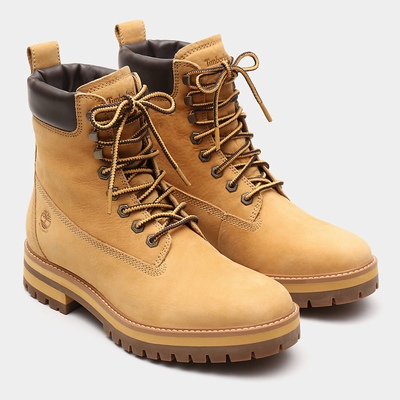 Timberland Courma Guy Boots For Men In Yellow [Size UK 5.5-11.5]