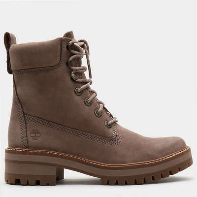 Timberland Courmayeur Valley 6 Inch Boots For Women In Taupe [Size UK 3-7.5]