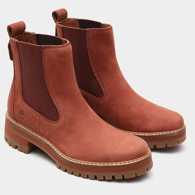 Timberland Courmayeur Valley Chelsea Boots For Women In Brown [Size UK 3-7.5]