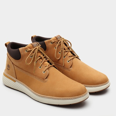 Timberland Cross Mark Chukka Boots For Men In Yellow [Size UK 5.5-11.5]