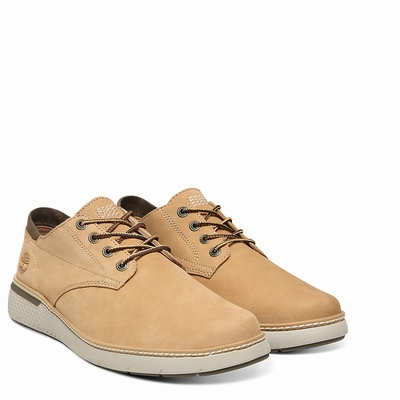 Timberland CrossMark Oxfords Shoes For Men In Beige [Size UK 5.5-11.5]