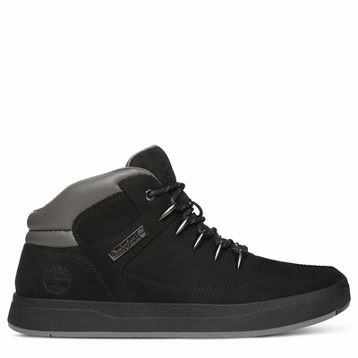 Timberland Davis Square Hiker Sneakers For Men In Black [Size UK 5.5-11.5]
