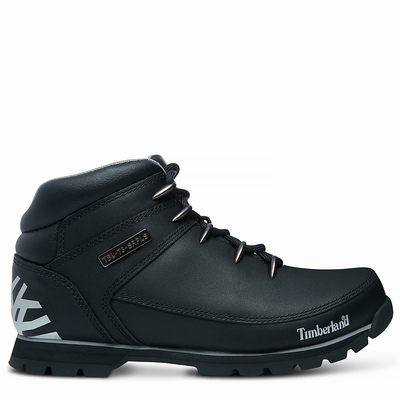 Timberland Euro Sprint Hiker Hiking Boots For Men In Black [Size UK 5.5-11.5]