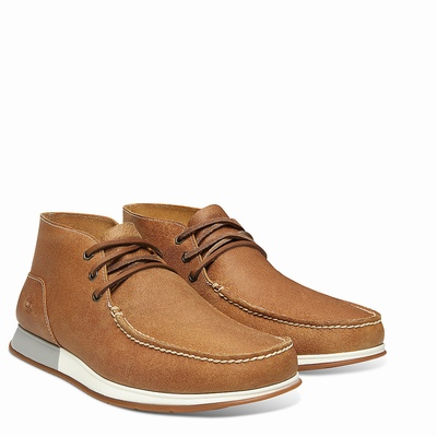 Timberland Heger's Bay 3-Eye Chukka Boots For Men In Brown [Size UK 5.5-11.5]