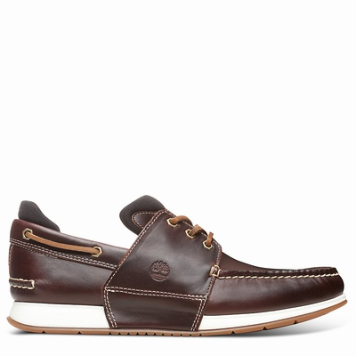 Timberland Heger's Bay Boats Shoes For Men In Brown [Size UK 5.5-11.5]