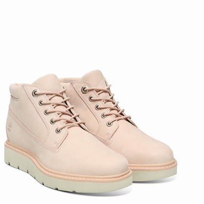 Timberland Kenniston Nellie Chukka Boots For Women In Light/Pink [Size UK 3-7.5]