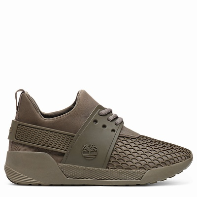 Timberland Kiri Up Pattern Sneakers For Women In Brown [Size UK 3-7.5]