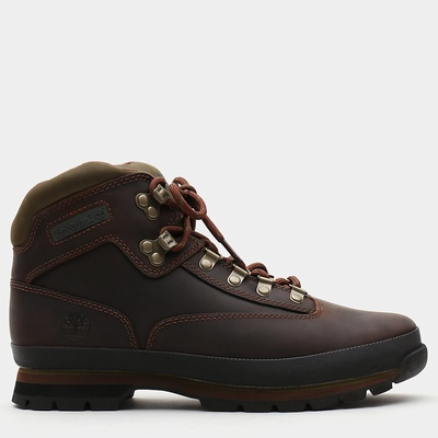 Timberland Leather Euro Hiker Hiking Boots For Men In Brown [Size UK 5.5-11.5]
