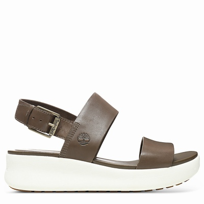 Timberland Los Angeles Wind Sandals For Women In Brown [Size UK 3-7.5]