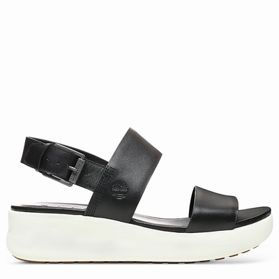 Timberland Los Angeles Wind Sandals For Women In Black [Size UK 3-7.5]