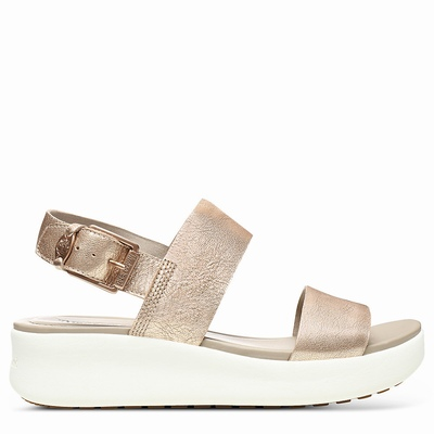 Timberland Los Angeles Wind Sandals For Women In Rose/Gold [Size UK 3-7.5]