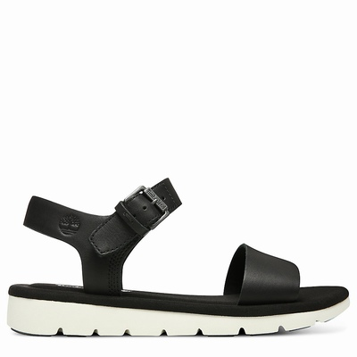 Timberland Lottie Lou Sandals For Women In Black [Size UK 3-7.5]