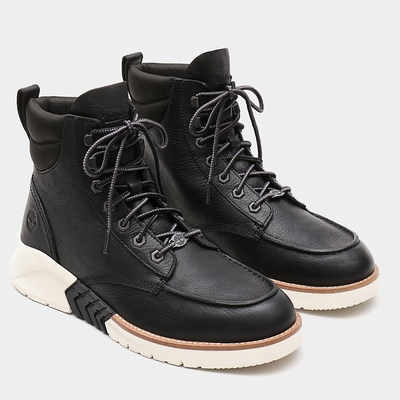 Timberland MTCR Mocassin Toe Boots For Men In Black [Size UK 5.5-11.5]