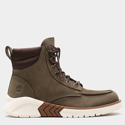 Timberland MTCR Mocassin Toe Boots For Men In Green [Size UK 5.5-11.5]