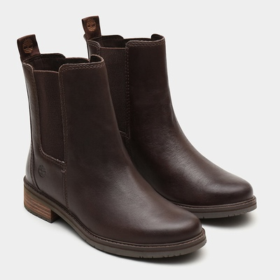 Timberland Mont Chevalier Chelsea Boots For Women In Dark/Brown [Size UK 3-7.5]
