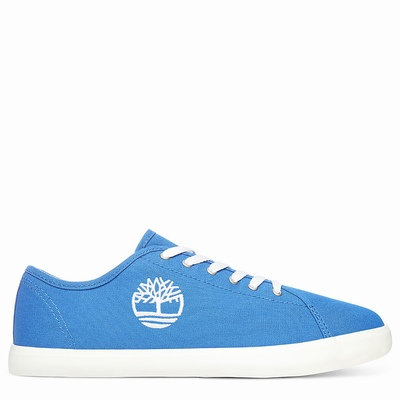 Timberland Newport Bay Canvas Sneakers For Kids In Blue [Size UK 6-2.5]