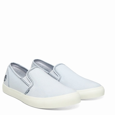 Timberland Newport Bay Slip On For Women In Light/Blue [Size UK 3-7.5]