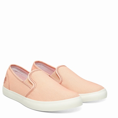 Timberland Newport Bay Slip On For Women In Peach [Size UK 3-7.5]
