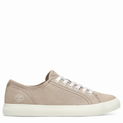 Timberland Newport Bay Trainer Sneakers For Women In Beige [Size UK 3-7.5]