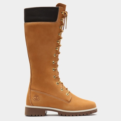 Timberland Premium 14'' Tall Boots For Women In Yellow [Size UK 3-7.5]