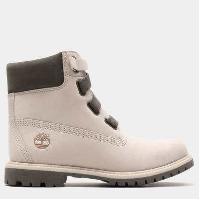 Timberland Premium 6 Inch Convenience Boots For Women In Beige [Size UK 3-7.5]