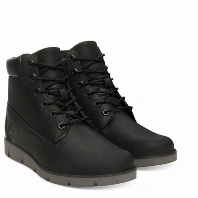 Timberland Radford 6 Inch Boots For Kids In Black [Size UK 6-2.5]