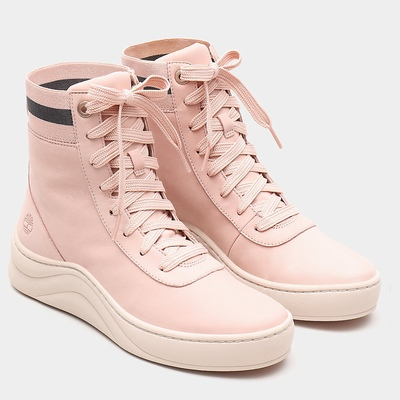 Timberland Ruby Ann High Tops Sneakers For Women In Pink [Size UK 3-7.5]