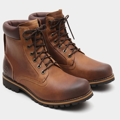 Timberland Rugged 6 Inch Boots For Men In Brown [Size UK 5.5-11.5]