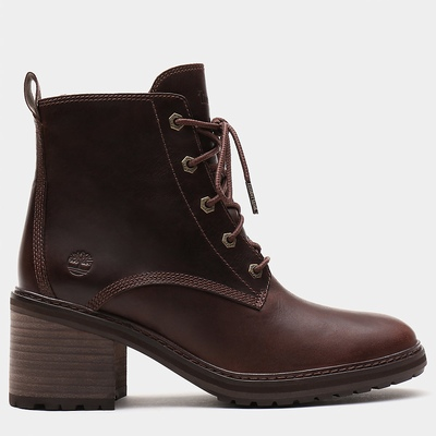 Timberland Sienna High Lace-Up Ankle Boots For Women In Dark/Brown [Size UK 3-7.5]