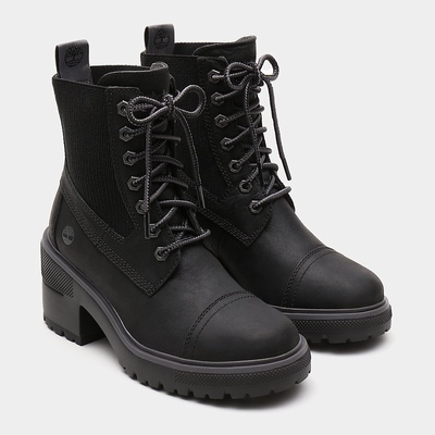 Timberland Silver Blossom Ankle Boots For Women In Black [Size UK 3-7.5]