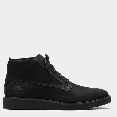 Timberland Wesley Falls Chukka Boots For Men In Black [Size UK 5.5-11.5]