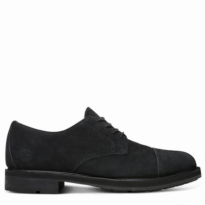 Timberland Windbucks Cap Toe Oxfords Shoes For Men In Black [Size UK 5.5-11.5]